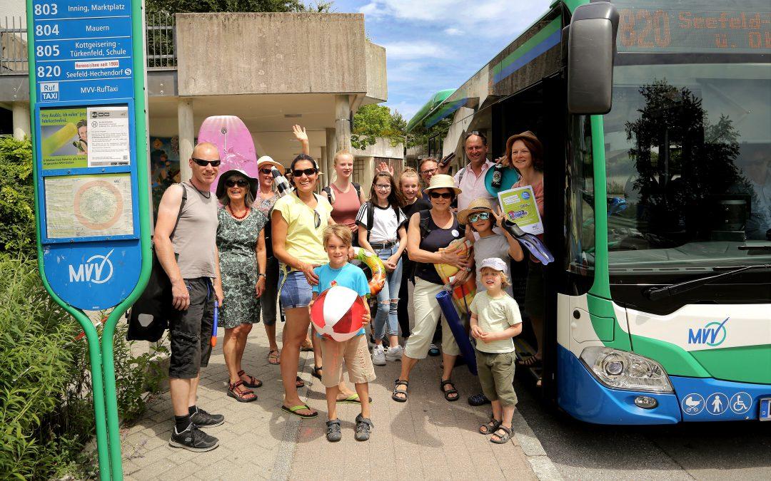 Mit dem Bus zum Wörthsee