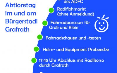 Radlaktionstag am 21. September 2019