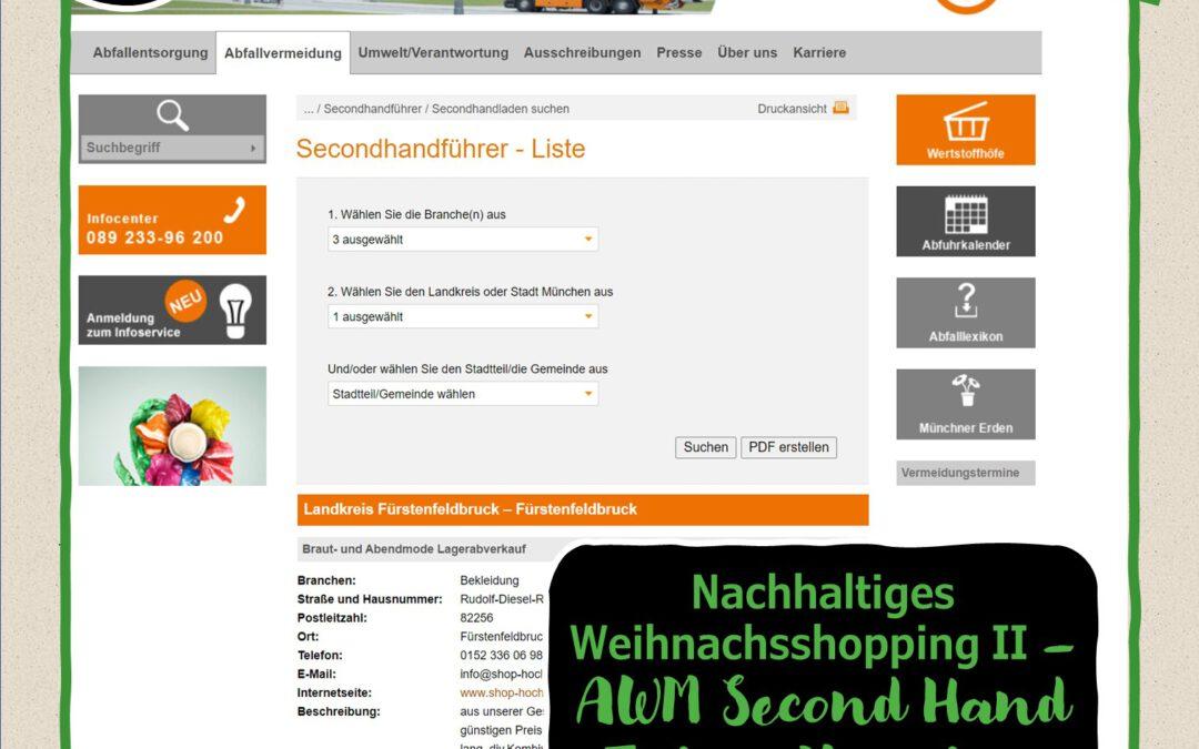 2. Türchen:Second Hand Führer München vom AWM