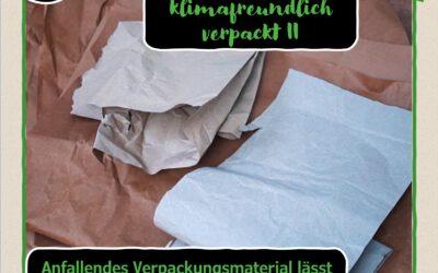 20. Türchen:  Geschenke klimafreundlich verpackt II