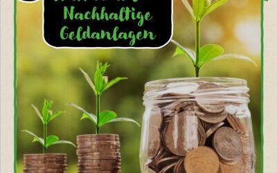 8 Türchen: Klimaschutz statt Kram I – Nachhaltige Geldanlagen