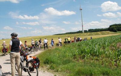 Klimaaktiv vor Ort veranstaltete Radlausflug nach Mammendorf